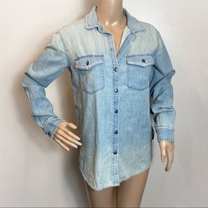 American Eagle Outfitters Boho Button Down Shirt